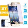 Película Vidro Curva Tela Toda Samsung Galaxy S7 Edge+ Capa
