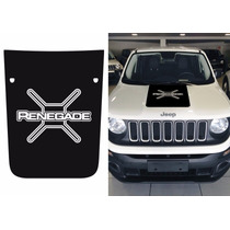 Adesivo Capô Jeep Renegade Fosco - Trailhawk Custom