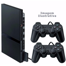 Playstation 2 - Usado - Destravado - 3 Jogos Ps2
