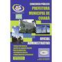 Apostila Cuiabá/mt - Oficial Administrativo - Prefeitura De