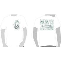 Camisetas Chicano - Frente Costas- Skull Hat & Crazy Mexican