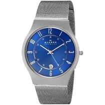 Relógio Masculino Skagen Titanium 233xlttn/1an 37mm Prata