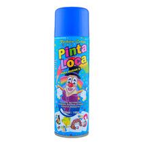 Tinta Spray Pinta Loca Decorativa Azul 150ml Fashion Colors