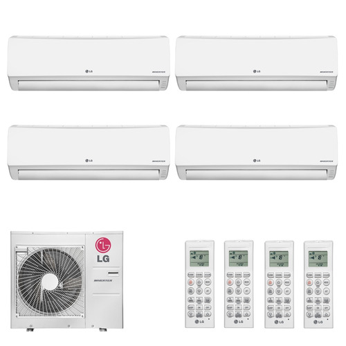 Ar Condicionado Multi Split Inverter Hi Wall Lg 4x12.000 Btu