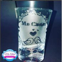 Copo De Tequila Pra Casamento -personalizado - Me Casei C/12