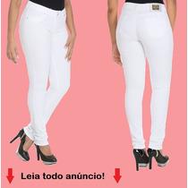 Caça Sawary Jeans Feminina Legging Branca - 239008 Promoção