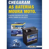 Bateria De Moto 12v-5ah; Honda 125/150 Bis/fan/cg Titan Es