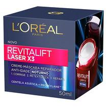 Loreal Revitalift Laser X3 Noturno-50ml