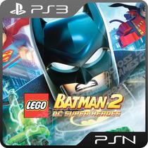 Lego Batman 2: Dc Super Heroes Ps3 - Mídia Digital