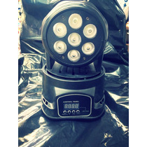 Mini Moving. Head Wash De Led 7/ 12w Dmx