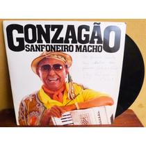 Lp Vinil Gonzagão Sanfoneiro Macho Rca 1985 Promoção Oferta