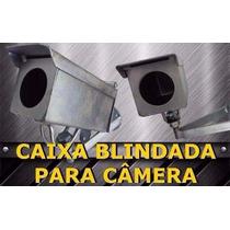 Caixa De Ferro Galvanizada Para Proteção De Câmeras Blindada