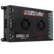 Modulo Amplificador Soundigital Sd 800 Rms 4d 4 Evolution