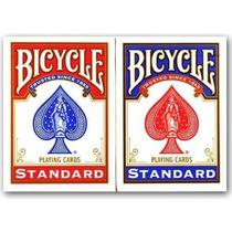 Baralho Bicycle Standard - O Par Um Vermelho + Um Azul