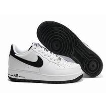 Sapatenis Tenis Nike Masculino Promoção Em Couro Air Force