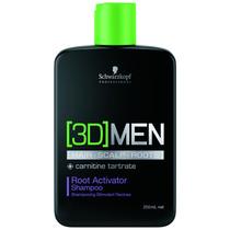 Shampoo Antiqueda Ativador De Raízes - 3d Men - 250ml