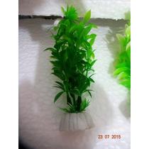 Plantas Artificiais De Aquários Pct Mix 08 Plantas 10 Cm