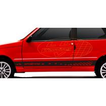 Adesivos Sporting Fiat Uno Mille Economy Faixa Lateral