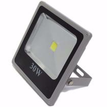 Refletor Led Holofote 30w Bivolt Branco Frio Pronta Entrega