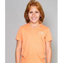 Camiseta Infantil Gola V Paco Kids - Laranja