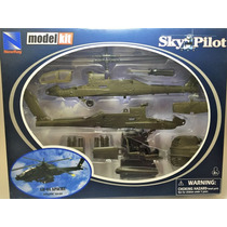 Kit De Montar Helicóptero Apache Ah-64 1:60 New Ray