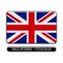 Adesivo Automotivo Bandeira Paises Inglaterra Resinado