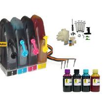 Bulk Ink P/ Hp3050 Com Acessórios E Tintas