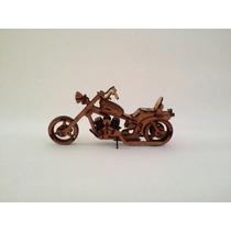 Moto Harley Em Mdf Decorativo