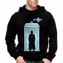 Moletom Doctor Who Modelo 2 Blusa Com Estampa Grande