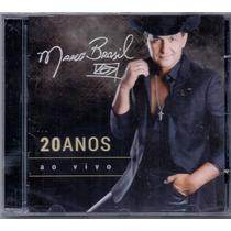 Cd Marco Brasil - 20 Anos Ao Vivo - Novo***