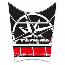 Adesivo Resinado Tankpad Yamaha Ténéré 250 Estrela Vermelho