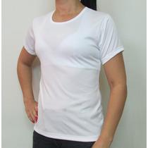 Camiseta Feminina Dry Fit Malha Fria Modelo Fitness
