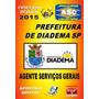 Apostila Prefeitura Diadema Ag Servicos Gerais 2015