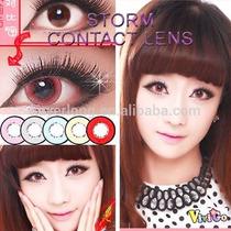Olhos Cosplay - Circle Lens Vermelha 18mm-pronta Entrega !!