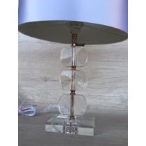 Abajur Decorativo Base Em Arilico Design Lamar Ref 79755