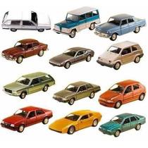 Coleção Carros Nacionais 12 Miniaturas Extra 11cm