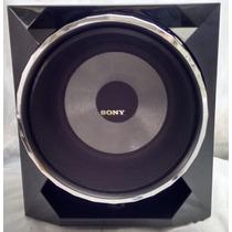 Caixa Subwoofer Sony Gpx55 10 Pol Surround Super Grave Sub