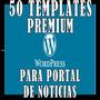 50 Temas Premium Wordpress Temas Script Site Noticias