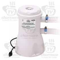Bomba Filtrante Piscina Mor 2200lh Filtro Incluso 110 Ou 220