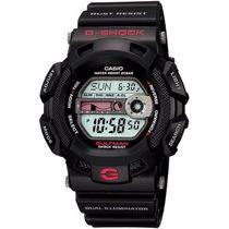 Relógio Cásio G-shock G-9100 Gulfman Preto Maré Anti Ferruge