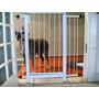 Grade Porta Portão Pet Criança Bebe Cão Vão 75 A 79cm Kit 10