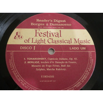 Lp Festival Of Light Classical Musical - 1, 2 E 3 - Sem Capa
