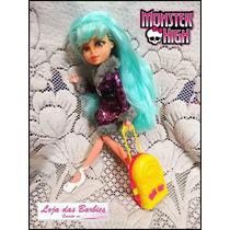 Mala De Viagem P/ Boneca Monster High * Barbie * Blythe Susi