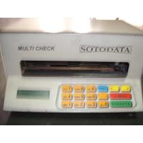 Maquina De Prencher Cheques Sotodata - Multi Cheque