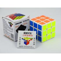 Cubo Mágico Branco 3x3 Yj Moyu Guanlong Pronta Entrega Rubik