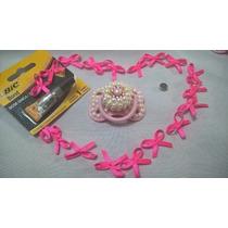 Chupeta Magnetica Para Boneca Bebê Reborn Rosa -envio 24h-