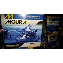 Bateria Suzuki Dl1000 V-stron Sl1000 Moura Ma12e Ytx14-bs