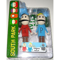 Terrance And Phillip - Miniatura Mezco Importada South Park