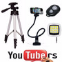 Kit Youtuber Advanced Ii - Tripé 1,20, Flash Portátil Gravar