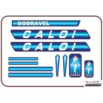 Adesivo Para Caloi Berlineta Dobrável Azul - Frete Grátis